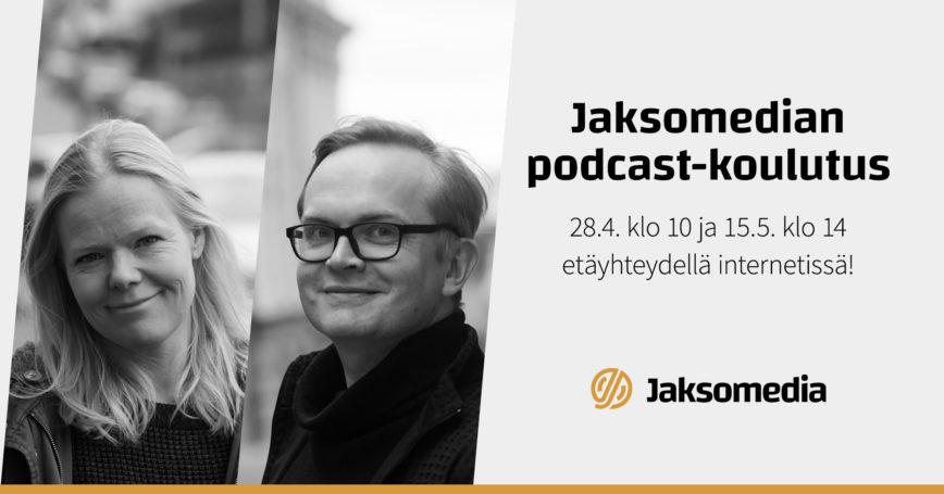 Podcast-koulutukset keväällä 2020 – etäopetusta tarjolla