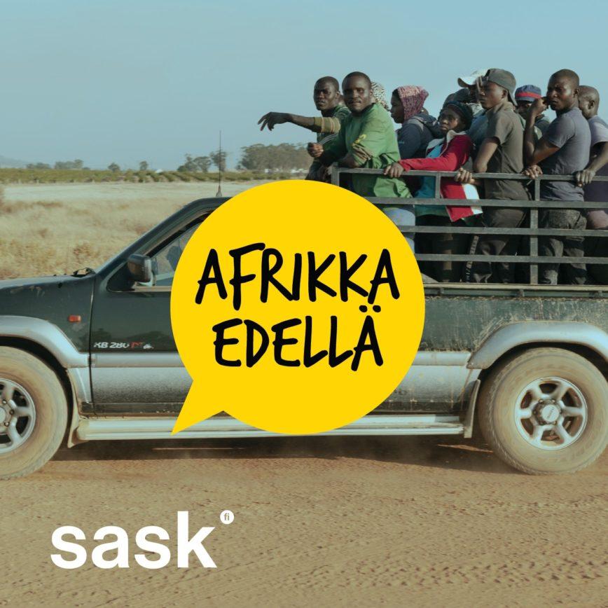 Afrikka edellä